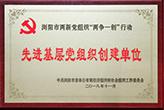 先进基层党组织创建单位